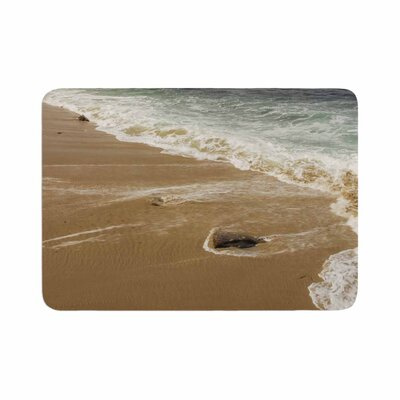 Nick Nareshni Sandy Waters Memory Foam Bath Rug Size: 0.5 H x 17 W x 24 D
