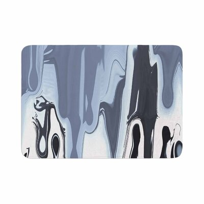 Nina May Drip Memory Foam Bath Rug Size: 0.5 H x 17 W x 24 D