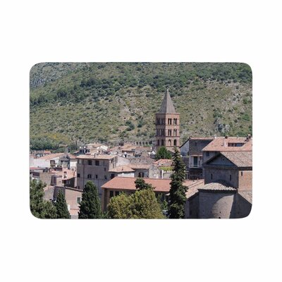 Nick Nareshni Florence Architecture Travel Photography Memory Foam Bath Rug Size: 0.5 H x 24 W x 36 D