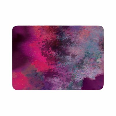 Nina May Mineral Watercolor Memory Foam Bath Rug Size: 0.5 H x 17 W x 24 D