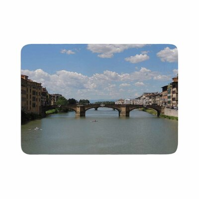 Nick Nareshni Italian Archways Travel Memory Foam Bath Rug Size: 0.5 H x 17 W x 24 D