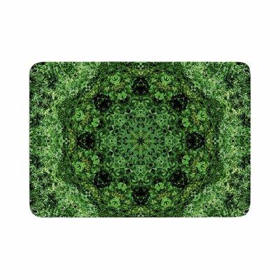 Nick Nareshni Forest Mandala Geometric Memory Foam Size: 0.5 H x 17 W x 24 D