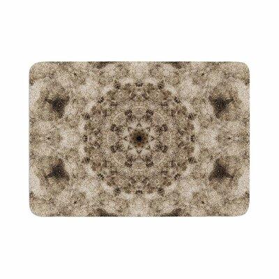 Nick Nareshni Sandy Beach Mandala Memory Foam Bath Rug Size: 0.5 H x 17 W x 24 D