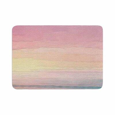Oriana Cordero Capri Memory Foam Bath Rug Size: 0.5 H x 17 W x 24 D