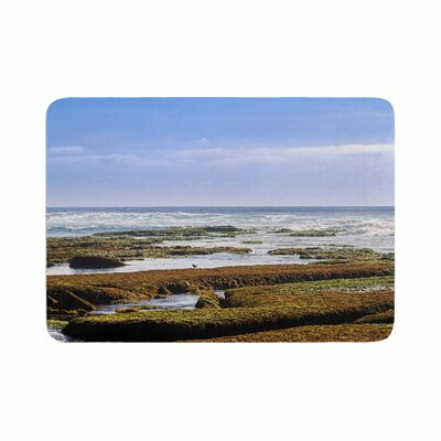 Nick Nareshni Low Tide Reef Photography Memory Foam Bath Rug Size: 0.5 H x 24 W x 36 D