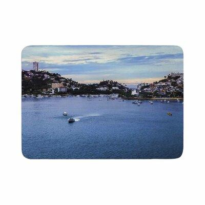 Nick Nareshni Puerto Rico Coastline Photography Memory Foam Bath Rug Size: 0.5 H x 17 W x 24 D