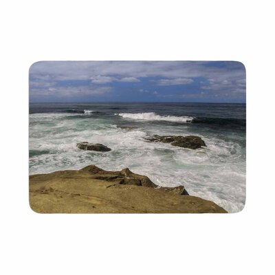 Nick Nareshni Exposed Above Water Sandstone Photography Memory Foam Bath Rug Size: 0.5 H x 17 W x 24 D