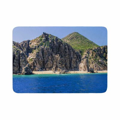 Nick Nareshni Stone Hills Coastline Photography Memory Foam Bath Rug Size: 0.5 H x 17 W x 24 D
