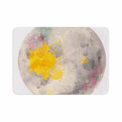 Oriana Cordero Moonlight Memory Foam Bath Rug Size: 0.5 H x 17 W x 24 D