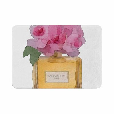 Oriana Cordero EAU DE PARFUM V3 Memory Foam Bath Rug Size: 0.5 H x 17 W x 24 D