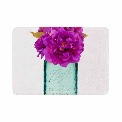 Oriana Cordero Perfect Mason V3 Memory Foam Bath Rug Size: 0.5 H x 17 W x 24 D