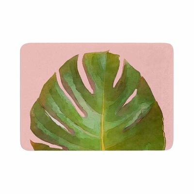 Oriana Cordero Tropico Memory Foam Bath Rug Size: 0.5 H x 17 W x 24 D
