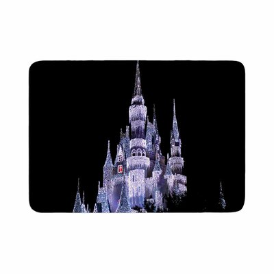 Philip Frozen Castle Photography Memory Foam Bath Rug Size: 0.5 H x 17 W x 24 D