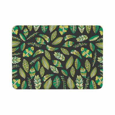 Pom Graphic Design Tropical Botanicals 2 Memory Foam Bath Rug Size: 0.5 H x 24 W x 36 D