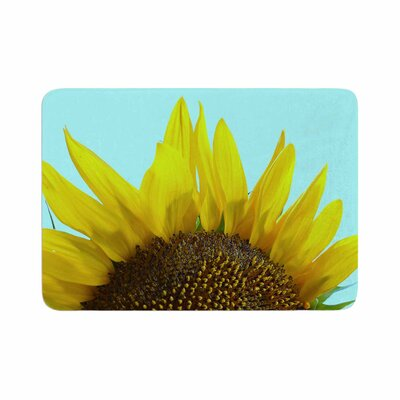 Richard Casillas Sunflower Memory Foam Bath Rug Size: 0.5 H x 24 W x 36 D