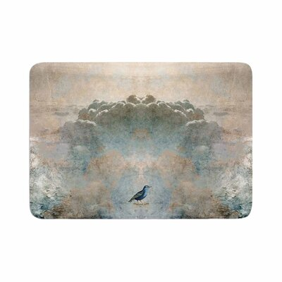 Pia Schneider Heavenly Bird Animals Memory Foam Bath Rug Size: 0.5 H x 24 W x 36 D