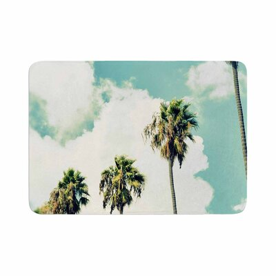Richard Casillas Paradise and Heaven Memory Foam Bath Rug Size: 0.5 H x 17 W x 24 D