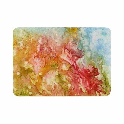 Rosie Fantasy Garden Painting Memory Foam Bath Rug Size: 0.5 H x 24 W x 36 D