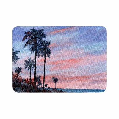 Rosie Florida Sunset Memory Foam Bath Rug