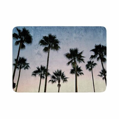 Richard Casillas Paradise Palms Memory Foam Bath Rug Size: 0.5 H x 17 W x 24 D