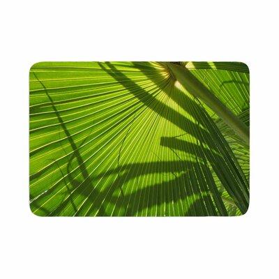 Rosie Palm Shadows Memory Foam Bath Rug Size: 0.5 H x 24 W x 36 D