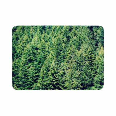 Robin Dickinson Summertime Woodlands Memory Foam Bath Rug Size: 0.5 H x 24 W x 36 D