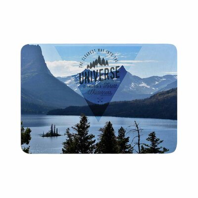 Robin Dickinson Through the Wilderness Photography Memory Foam Bath Rug Size: 0.5 H x 17 W x 24 D