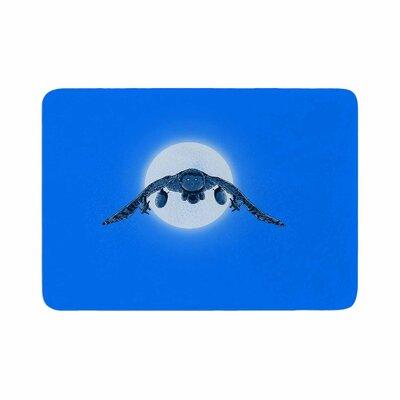 BarmalisiRTB Battle Owl Memory Foam Bath Rug Size: 0.5 H x 17 W x 24 D