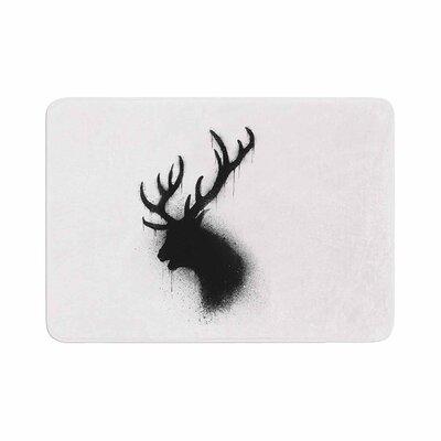 BarmalisiRTB Deer Memory Foam Bath Rug Size: 1 H x 24 W x 36 D