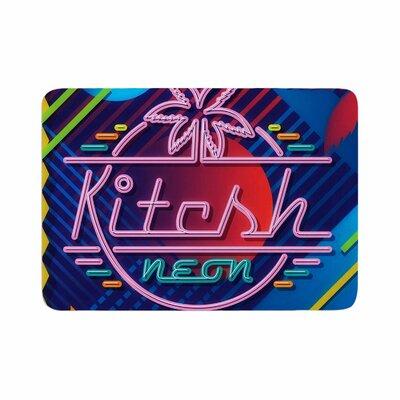 Roberlan Kitsch Neon Memory Foam Bath Rug Size: 0.5 H x 17 W x 24 D