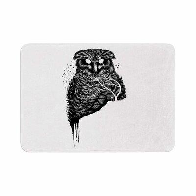 BarmalisiRTB Autumn Owl Memory Foam Bath Rug Size: 1 H x 24 W x 36 D