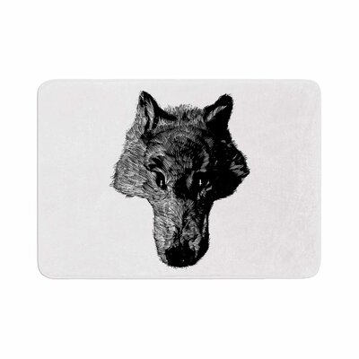 BarmalisiRTB Coyote Memory Foam Bath Rug Size: 0.5 H x 17 W x 24 D