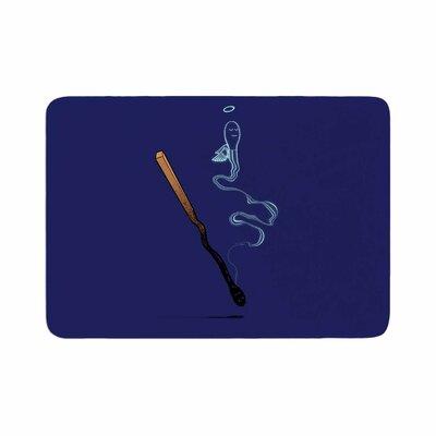 BarmalisiRTB Matches Memory Foam Bath Rug Size: 0.5 H x 17 W x 24 D