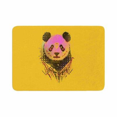 BarmalisiRTB Dandy Panda Memory Foam Bath Rug Size: 0.5 H x 17 W x 24 D