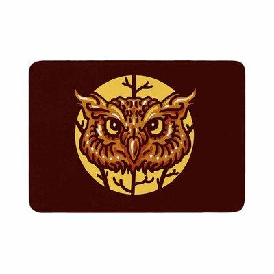 BarmalisiRTB Head Owl Digital Memory Foam Bath Rug Size: 1 H x 24 W x 36 D