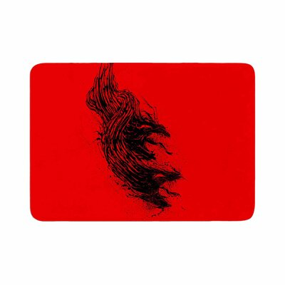 BarmalisiRTB Came From Hell Digital Memory Foam Bath Rug Size: 0.5 H x 17 W x 24 D