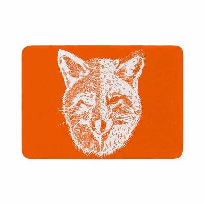 BarmalisiRTB Foxface Digital Memory Foam Bath Rug Size: 1 H x 24 W x 36 D