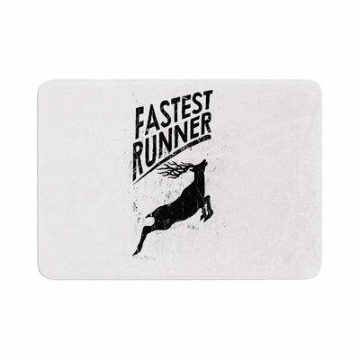 BarmalisiRTB Fastest Runner Memory Foam Bath Rug Size: 0.5 H x 17 W x 24 D