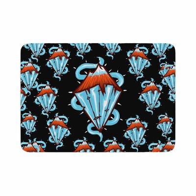 BarmalisiRTB Diamond Mountain Memory Foam Bath Rug Size: 0.5 H x 17 W x 24 D