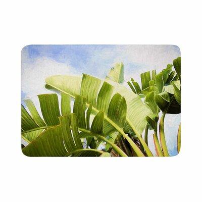 Sylvia Cook Tropical Charm Memory Foam Bath Rug Size: 0.5 H x 17 W x 24 D