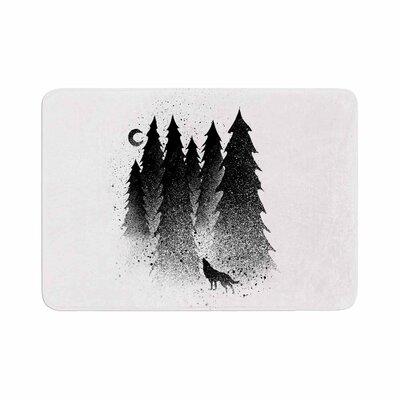 BarmalisiRTB Secret Forest Memory Foam Bath Rug Size: 0.5 H x 17 W x 24 D