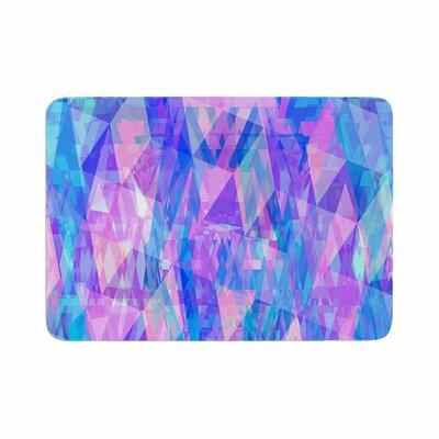 Suanne Carter Geo Prism2 Memory Foam Bath Rug Size: 0.5 H x 17 W x 24 D