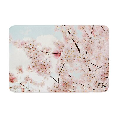 Sylvia Cook Spring Beauty Memory Foam Bath Rug Size: 0.5 H x 17 W x 24 D