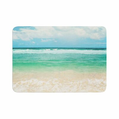 Sylvia Cook Endless Sea Coastal Memory Foam Bath Rug Size: 0.5 H x 17 W x 24 D
