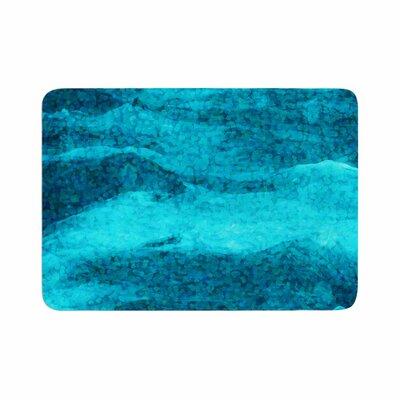 Suzanne Carter Confetti Ocean Digital Memory Foam Bath Rug Size: 0.5 H x 17 W x 24 D