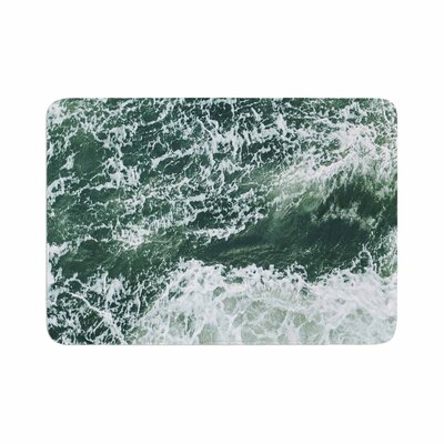 Suzanne Carter Oceans 2 Digital Memory Foam Bath Rug Size: 0.5 H x 24 W x 36 D