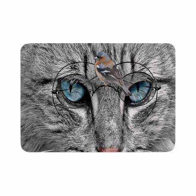 Suzanne Carter Birds Eye View Fantasy Digital Memory Foam Bath Rug Size: 0.5 H x 24 W x 36 D