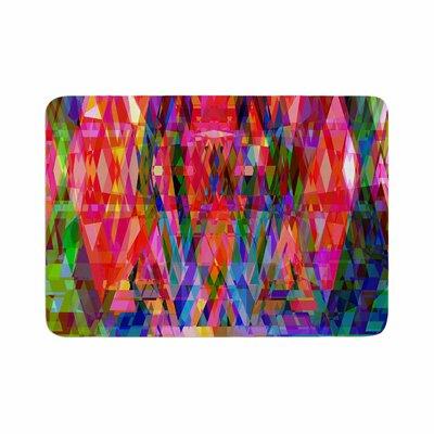 Suzanne Carter Geo Prism Memory Foam Bath Rug Size: 0.5 H x 17 W x 24 D