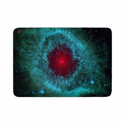 Suzanne Carter Helix Nebula Celestial Memory Foam Bath Rug Size: 0.5 H x 17 W x 24 D