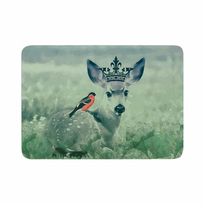 Suzanne Carter the Night Meadow Memory Foam Bath Rug Size: 0.5 H x 17 W x 24 D